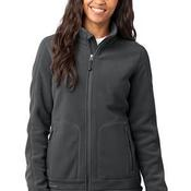 Ladies Wind Resistant Full Zip Fleece Jacket