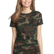 ™ Ladies Perfect Weight Camo Crew Tee