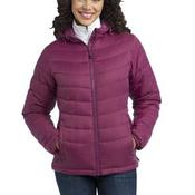 Ladies Mission Hooded Puffy Jacket