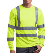 Ansi Class 3 Long Sleeve Snag Resistant Reflective T Shirt