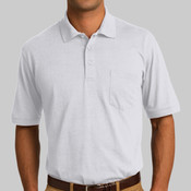 5.5 Ounce Jersey Knit Pocket Polo
