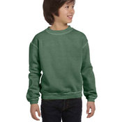 Youth  11 oz. Pigment-Dyed Ringspun Cotton Fleece Crew
