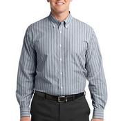Vertical Stripe Easy Care Shirt
