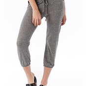 Ladies' Eco-Jersey Cropped Pants