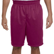 100% Polyester Tricot Mesh Shorts