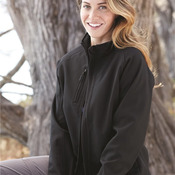 Ladies' Bonded Thermal Soft Shell Jacket With Dupont Teflon