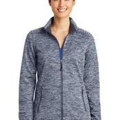 Ladies PosiCharge ® Electric Heather Soft Shell Jacket