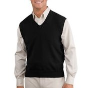 Fine Gauge V Neck Sweater Vest