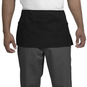 Waist Apron with Three Pockets